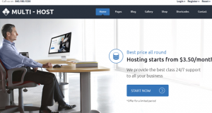 Web Hosting Theme – The Best Ever Multi Host!