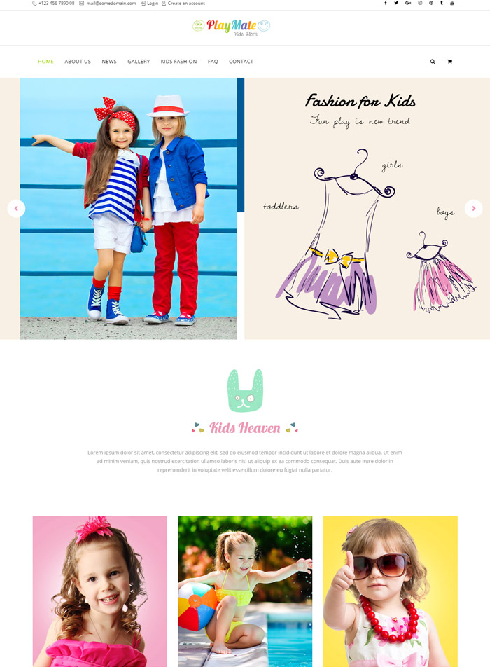 Woo Shop Kids Fashion