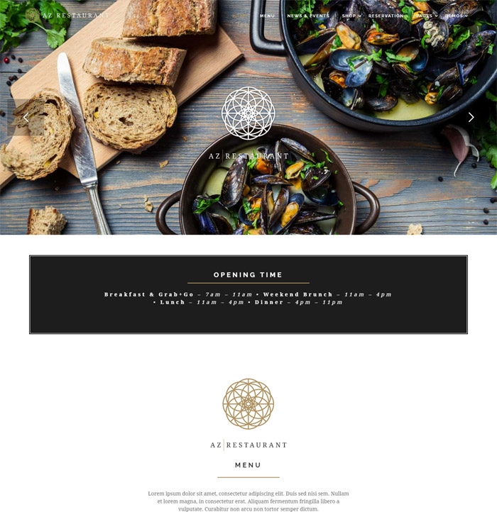 AZ - Multi Retail & Concept WordPress Theme