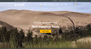 Travel theme from WordPress offering exclusive features