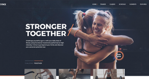Gym & fitness themes integrated with phenomenal Plugins