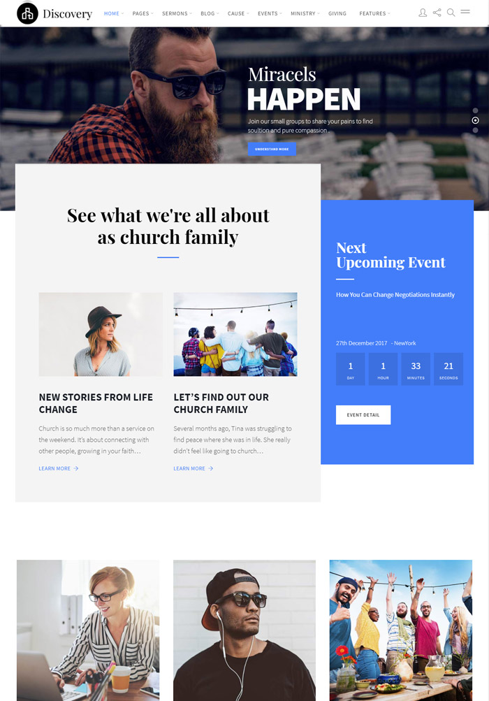 Vision - Multi-Purpose Church WordPress Theme