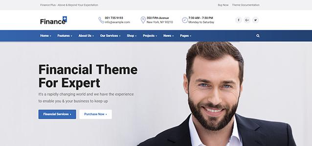 10 + Finest and Best Finance WordPress Themes