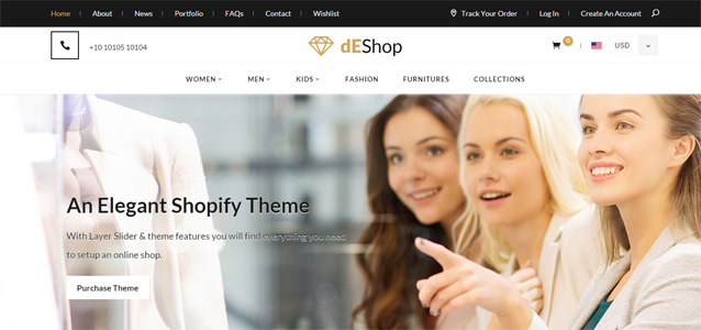15 + Ecom Shopify Themes for your Business