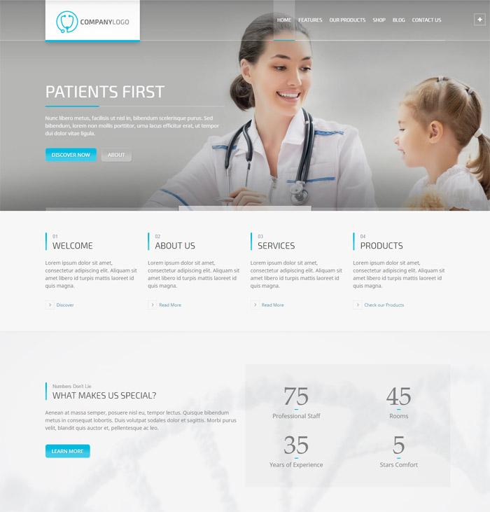 RT-Theme 20 | Medical, Health, Laboratory and Medical Product Catalog Theme