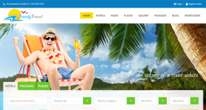 Trendy Travel – A Complete Travel Agency & Travel Web theme