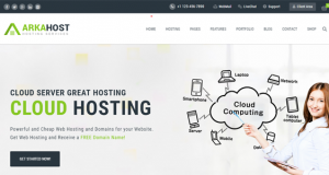 Technology Themes in WordPress for Hosting Services