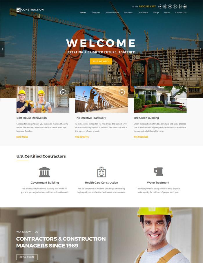 Construction - WP Construction, Building Business