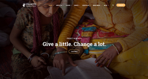 Charity Theme for nonprofits and NGO organizations