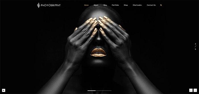 FullScreen Artist | Photography Theme