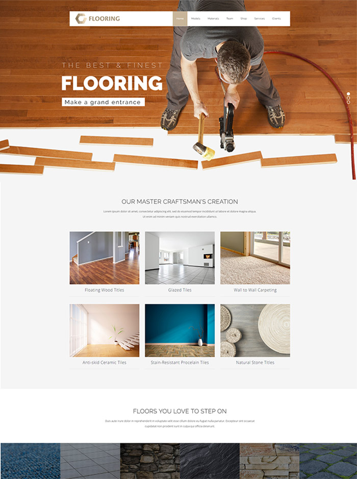 VEDA | Multi-Purpose flooring Theme