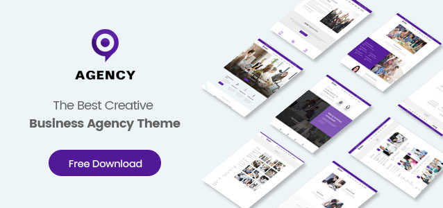 Agency Theme on a giveaway to 3 lucky winners!